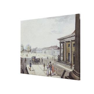 The Paris Square, Berlin Canvas Print