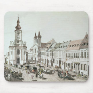 The Parish Church and Cemetery of Fauxbourg Mouse Mat