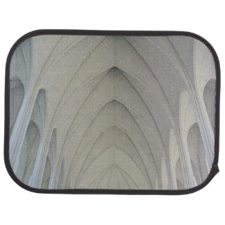 The parish church and landmarks of Reykjavik Car Mat