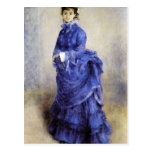 The parisian by Pierre Renoir Post Card