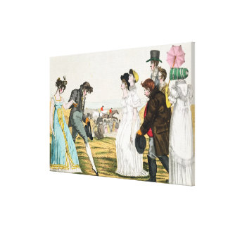 The Parisienne in London Canvas Print