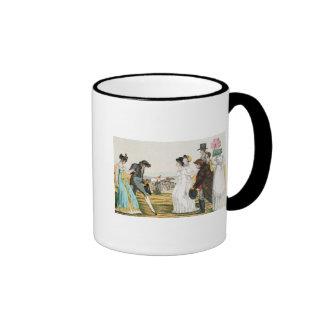 The Parisienne in London Coffee Mugs
