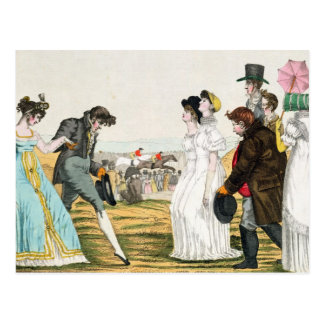 The Parisienne in London Postcard