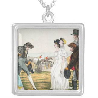 The Parisienne in London Silver Plated Necklace