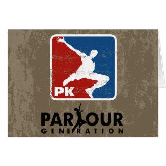 The Parkour Card