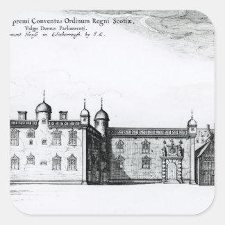 The Parliament House in Edinburgh Square Sticker