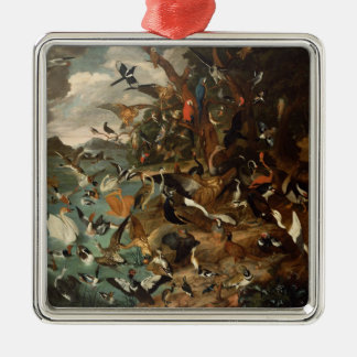 The Parliament of Birds Christmas Ornament