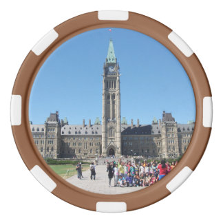 The Parliamentary Building, Canada Poker Chips