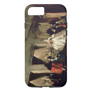 The Parlour of the San Zaccaria Convent (oil on ca iPhone 8/7 Case