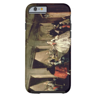The Parlour of the San Zaccaria Convent (oil on ca Tough iPhone 6 Case