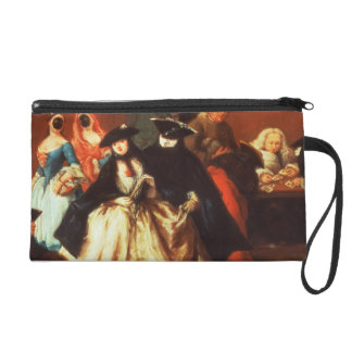 The Parlour (oil on canvas) Wristlets