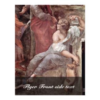 The Parnassus  By Raffael (Best Quality) Flyer