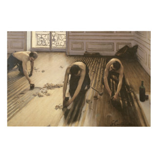 The Parquet Planers, 1875 2 Wood Wall Art
