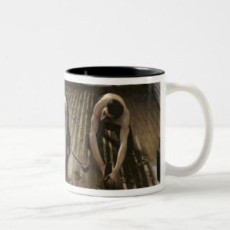 The Parquet Planers, 1875 Coffee Mug