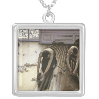 The Parquet Planers, 1875 Silver Plated Necklace