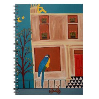 The Parrot from Shepherd's Bush 2007 Spiral Notebook