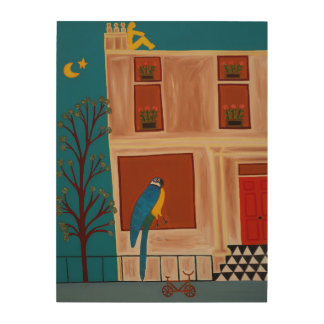 The Parrot from Shepherd's Bush 2007 Wood Wall Decor