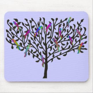 The Parrot Tree Mousepad