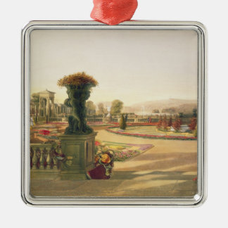 The Parterre, Trentham Hall Gardens, pub. by Thoma Christmas Ornament