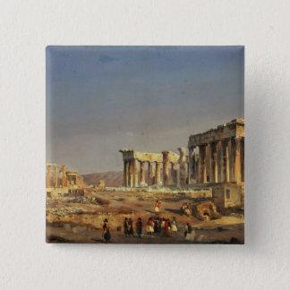 The Parthenon, 1863 15 Cm Square Badge