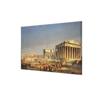 The Parthenon, 1863 Stretched Canvas Prints