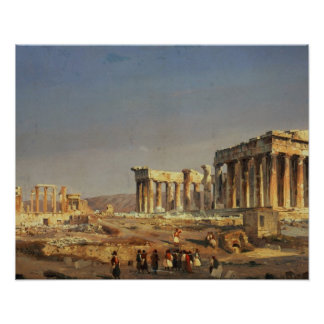 The Parthenon, 1863 Posters