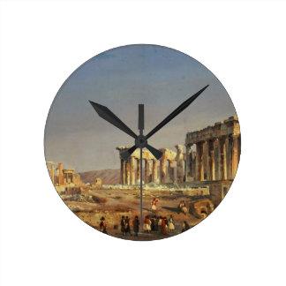The Parthenon, 1863 Round Clock