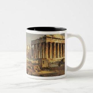 The Parthenon, 1863 Two-Tone Mug
