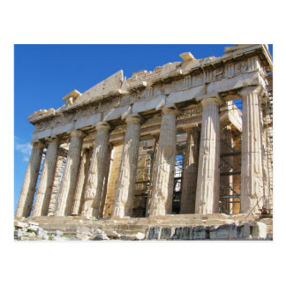 The Parthenon at Acropolis  447 BC Postcard