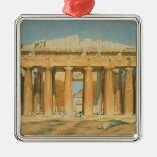 The Parthenon, Athens, 1810-37 Christmas Ornament