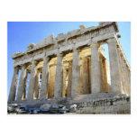 The Parthenon on the Acropolis Postcard