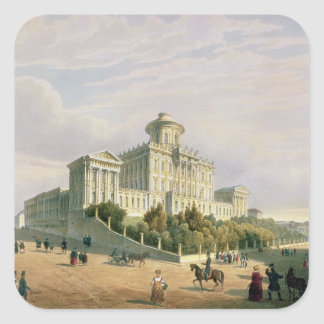 The Pashkov House , 1830s Square Sticker