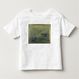 The Passage of the Andes in 1817 (oil on canvas) Toddler T-Shirt