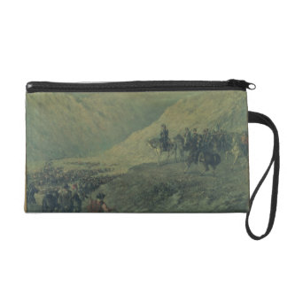 The Passage of the Andes in 1817 (oil on canvas) Wristlet Purses