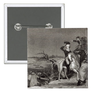 The Passage of the Delaware 15 Cm Square Badge