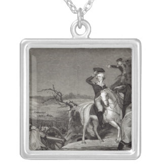 The Passage of the Delaware Silver Plated Necklace