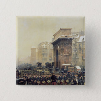 The Passing Regiment, 1875 15 Cm Square Badge