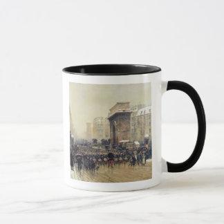The Passing Regiment, 1875 Mug