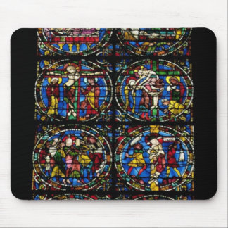 The Passion, lancet window in the west facade, 12t Mouse Pad