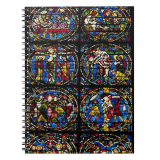 The Passion, lancet window in the west facade, 12t Spiral Note Book