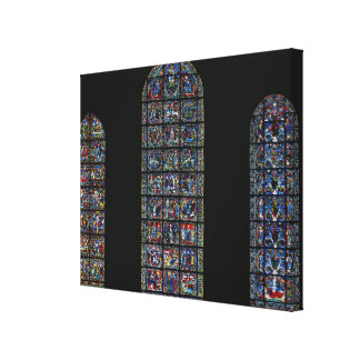 The Passion, The Nativity and the Tree of Jesse (s Canvas Print