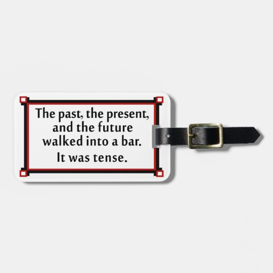 The past, the present, and the future luggage