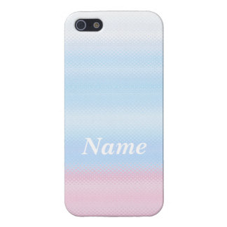 The pastel color decoration iPhone 5 Case which ha