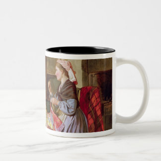 The Patchwork Quilt Two-Tone Coffee Mug
