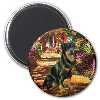 The Path - Rottweiler (#5) Magnet