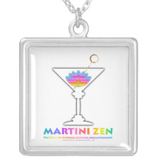 The Path to Cocktail Enlightenment Necklace