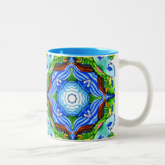 The Path to Nirvana Two-Tone Coffee Mug