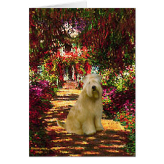 The Path - Wheaten Terrier Card