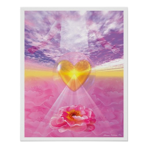 The Pathway of Divine Love Posters