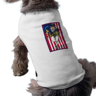 The Patriot II Sleeveless Dog Shirt